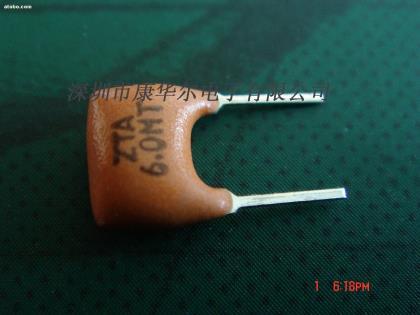 陶瓷晶振,zta6.0m,陶瓷谐振器