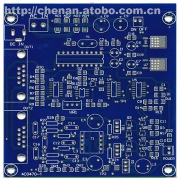 长期供应 pcb单双面环保电路板 雾化片驱动板机器人控制板